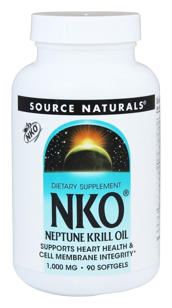 Source Naturals - NKO Neptune Krill Oil 1000 mg. - 90 Softgels