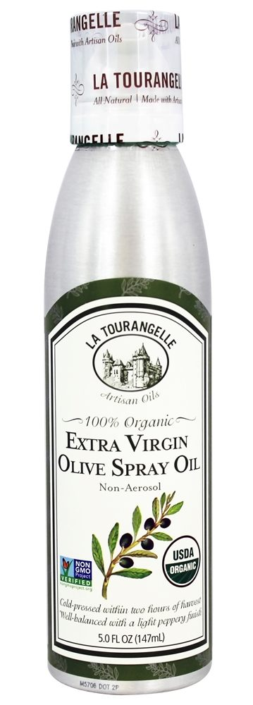La Tourangelle - 100% Organic Extra Virgin Olive Spray Oil - 5 oz.