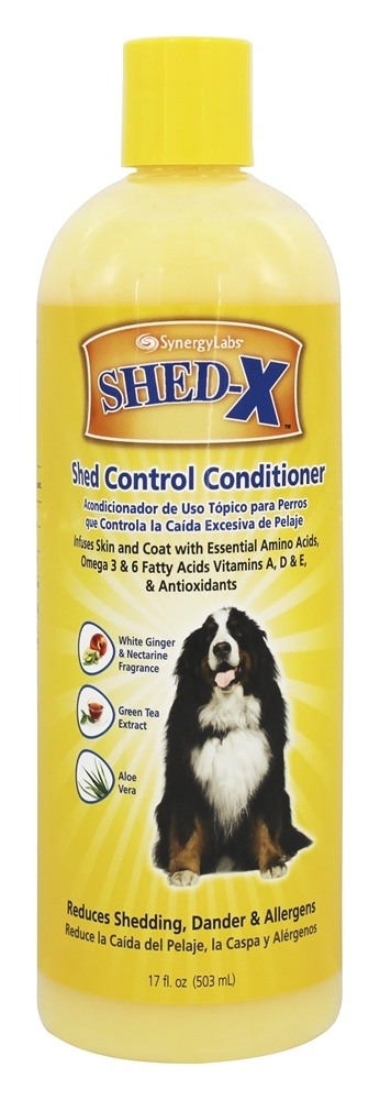 Synergy Labs - SHED-X Dermaplex Shed Control Conditioner For Dogs - 17 oz.