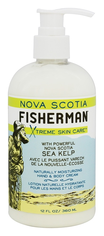 Nova Scotia Fisherman - Hand and Body Cream - 12 oz.