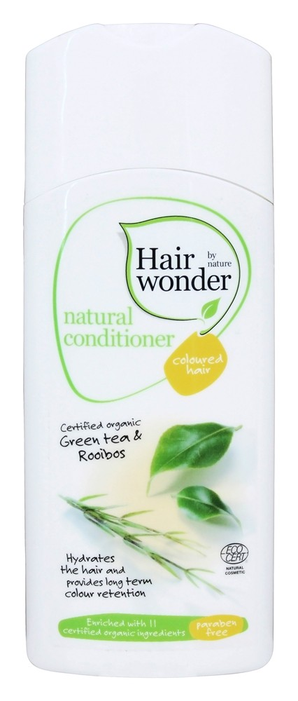 Hairwonder by Nature - Natural Conditioner Coloured Hair Green Tea & Rooibos - 7 oz.