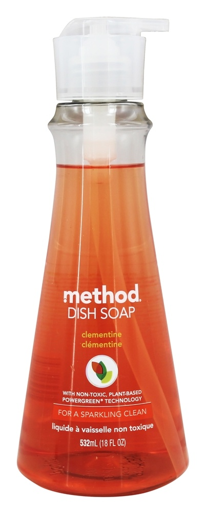 Method - Dish Soap Clementine - 18 oz.
