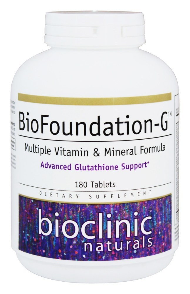Bioclinic Naturals - BioFoundation-G - 180 Tablets