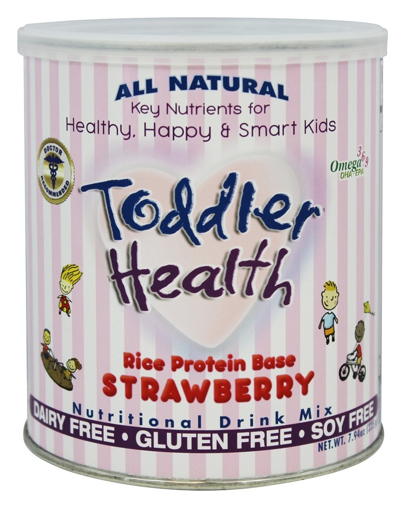 Toddler Health - All Natural Nutritional Drink Mix Strawberry - 7.94 oz.