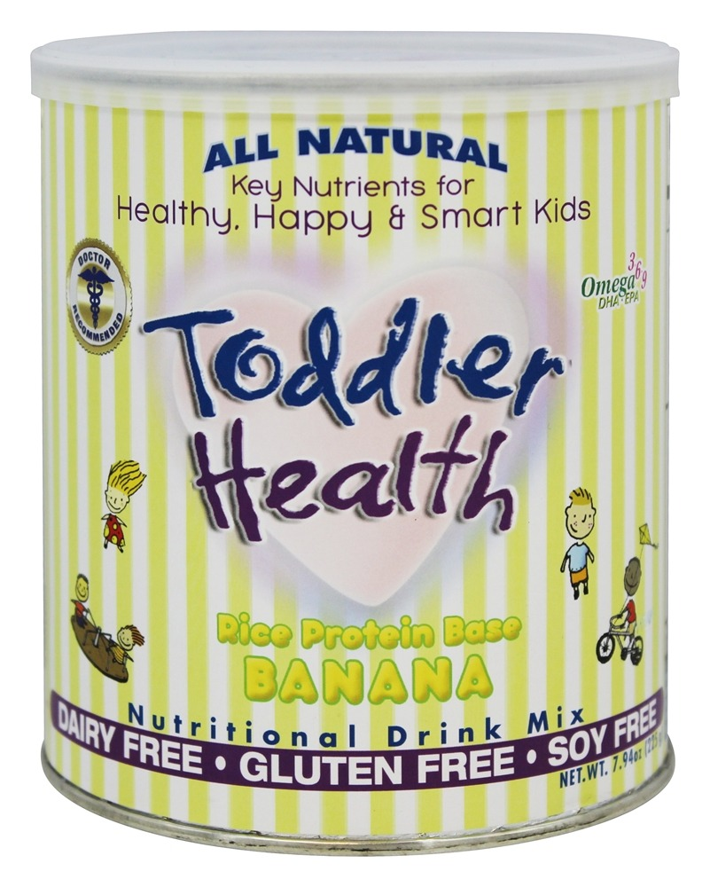 Toddler Health - All Natural Nutritional Drink Mix Banana - 7.94 oz.