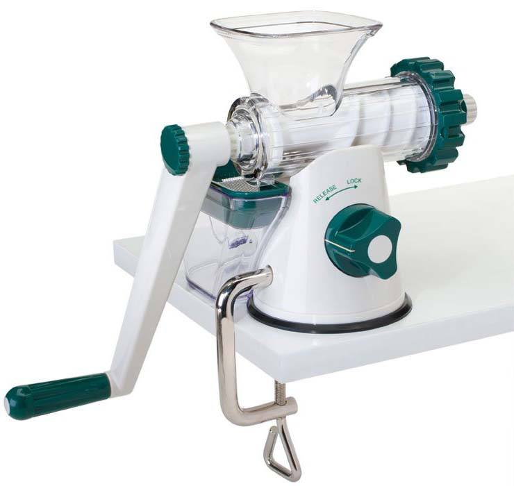 Healthy Juicer - Wheatgrass Juicer White