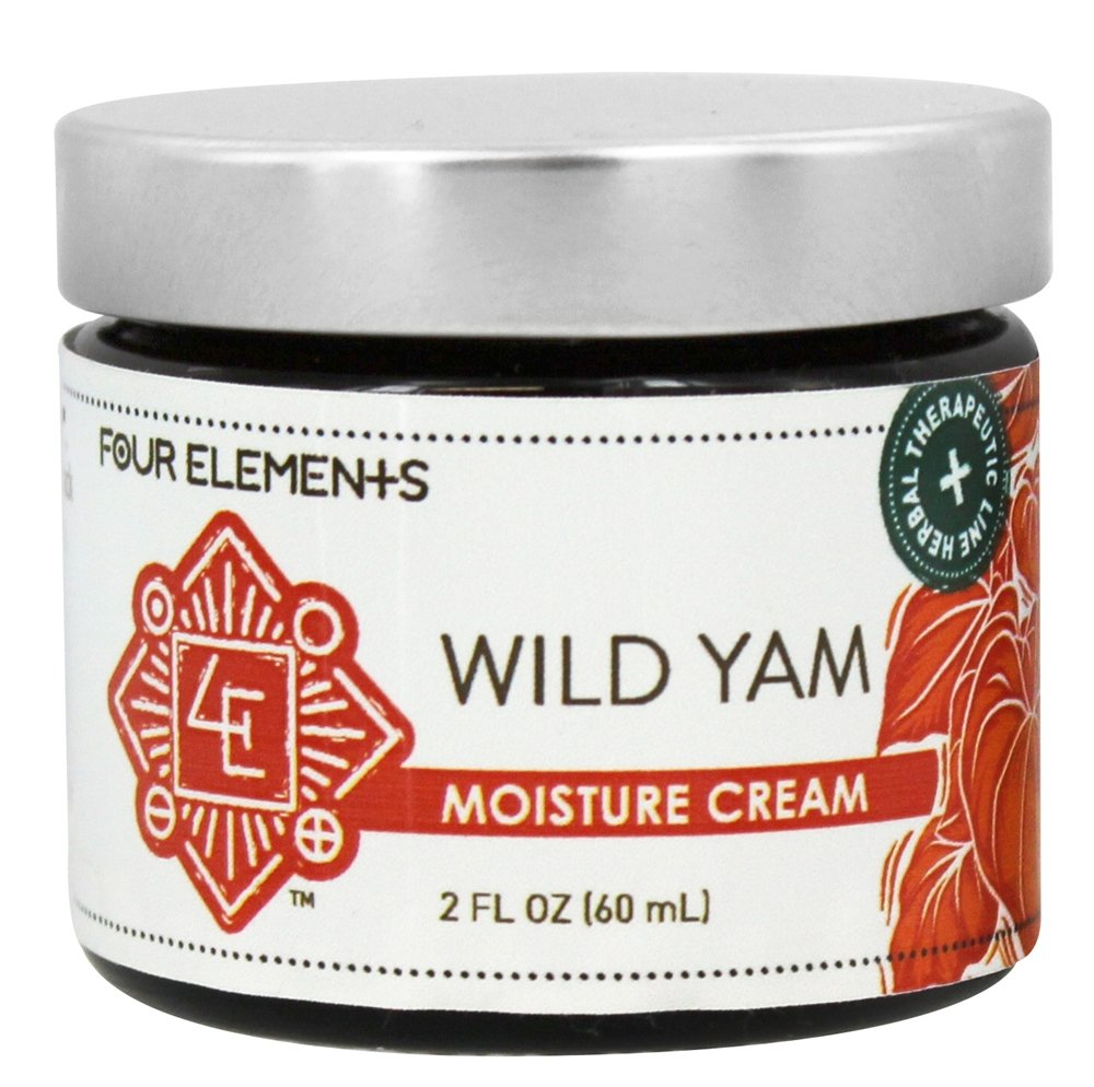 Four Elements Herbals - Moisture Cream Wild Yam - 2 oz.