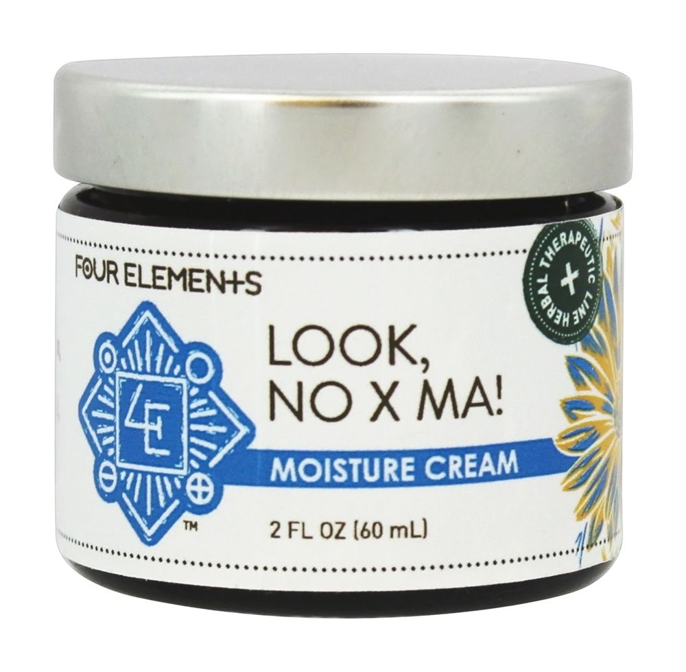 Four Elements Herbals - Moisture Cream for Eczema Look, No X Ma! - 2 oz.