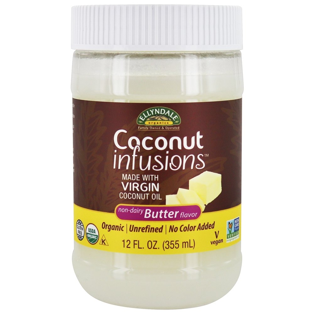 Ellyndale Foods - Organic Coconut Infusions Butter - 12 oz.