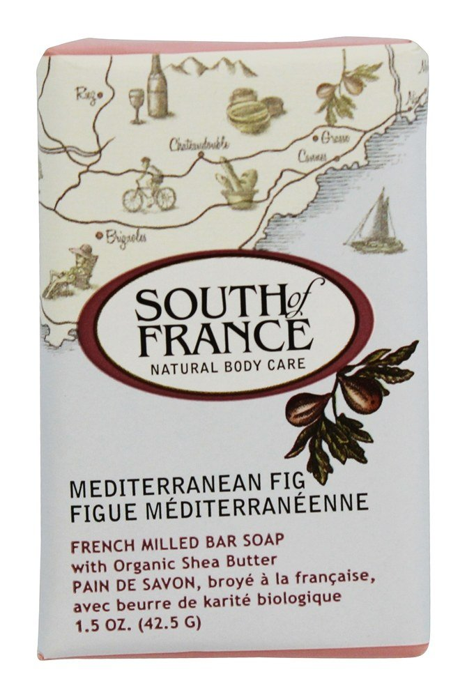 South of France - French Milled Vegetable Bar Soap Mediterranean Fig - 1.5 oz.