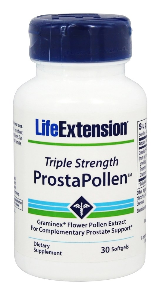Life Extension - ProstaPollen Triple Strength - 30 Softgels