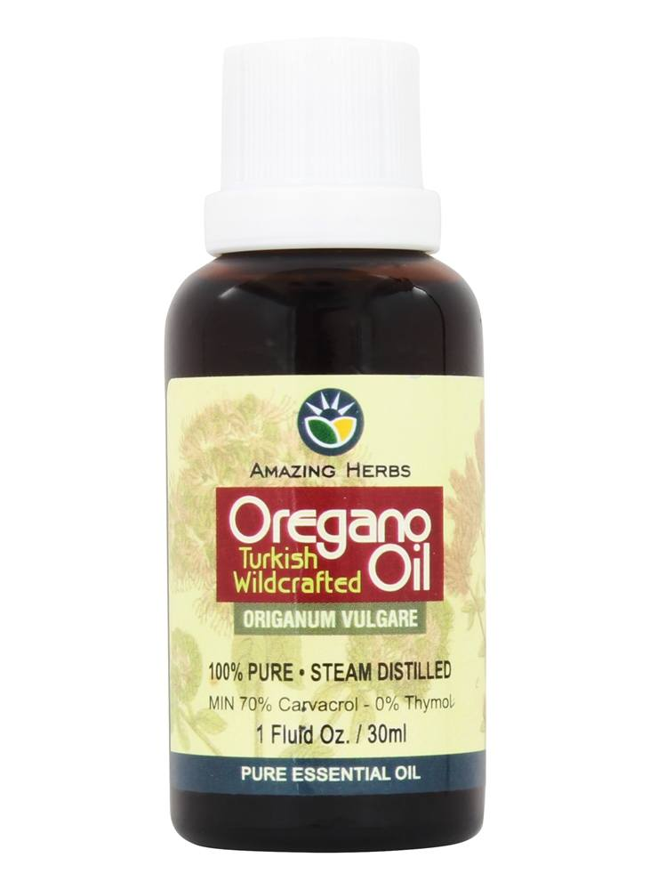 Amazing Herbs - Oregano Oil - 1 oz.