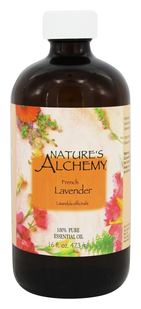 Nature's Alchemy - 100% Pure Essential Oil French Lavender - 16 oz.