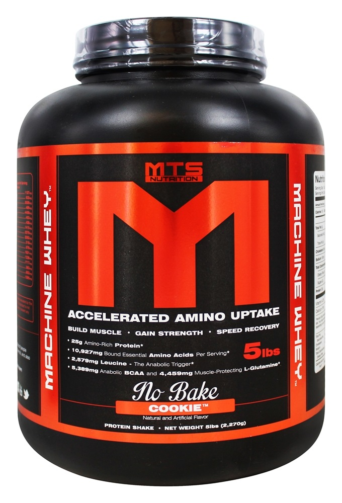 MTS Nutrition - Machine Whey No-Bake Cookie - 5 lbs.