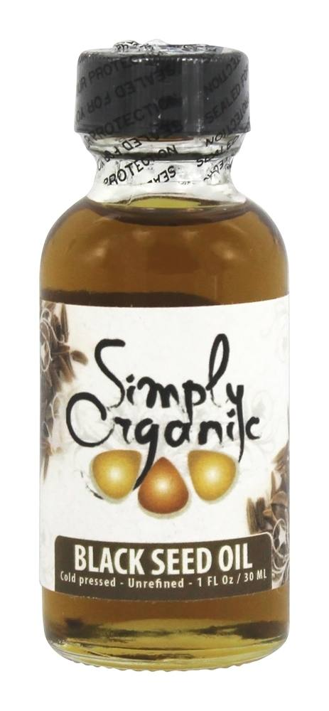 Simply Organic Oils - Organic Black Seed Oil - 1 oz.