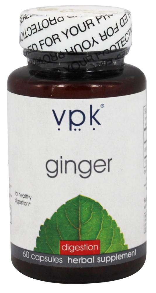 VPK by Maharishi Ayurveda - Ginger Digestion - 60 Capsules