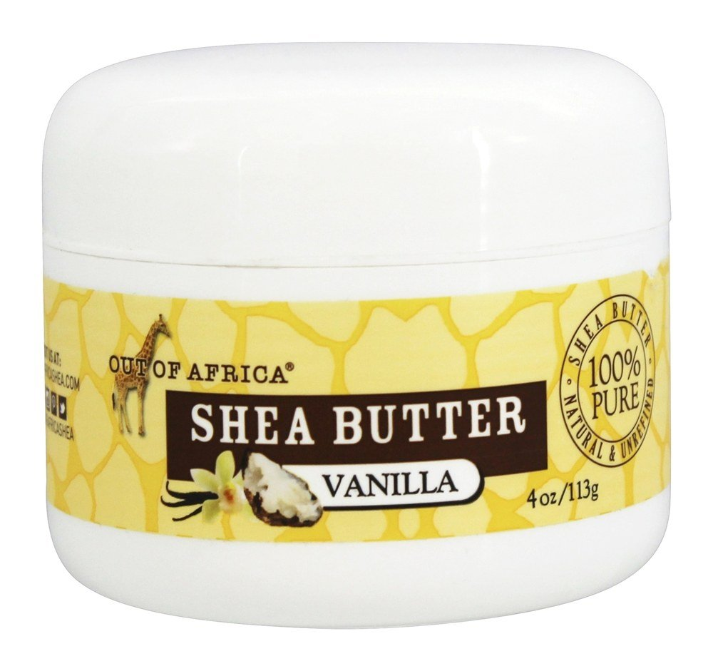 Out Of Africa - 100% Pure Shea Butter Vanilla - 4 oz.