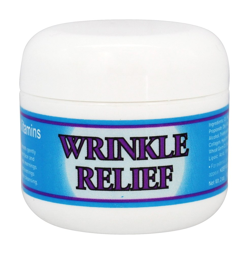 Nature's Vision - Wrinkle Relief Transcellular Facial Vitamins - 2 oz.
