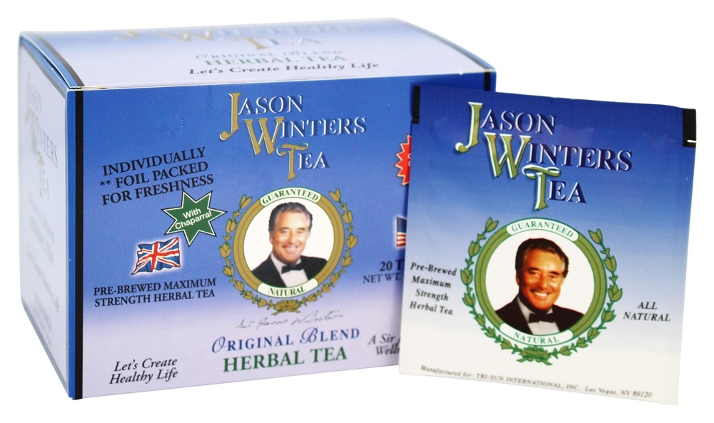 Jason Winters - Original Blend Tea with Chaparral - 20 Tea Bags