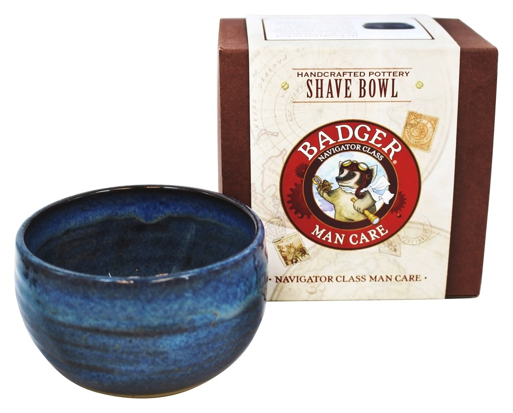 Badger - Man Care Handcrafted Pottery Shave Bowl