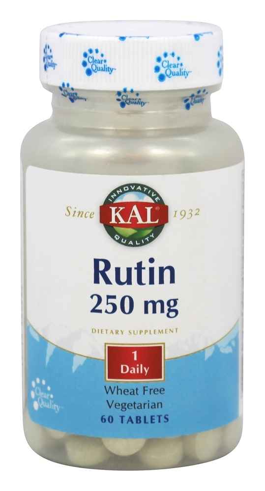 Kal - Rutin 250 mg. - 60 Tablets