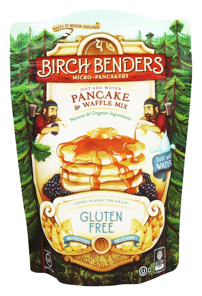 Birch Benders - Pancake and Waffle Mix Gluten Free - 14 oz.