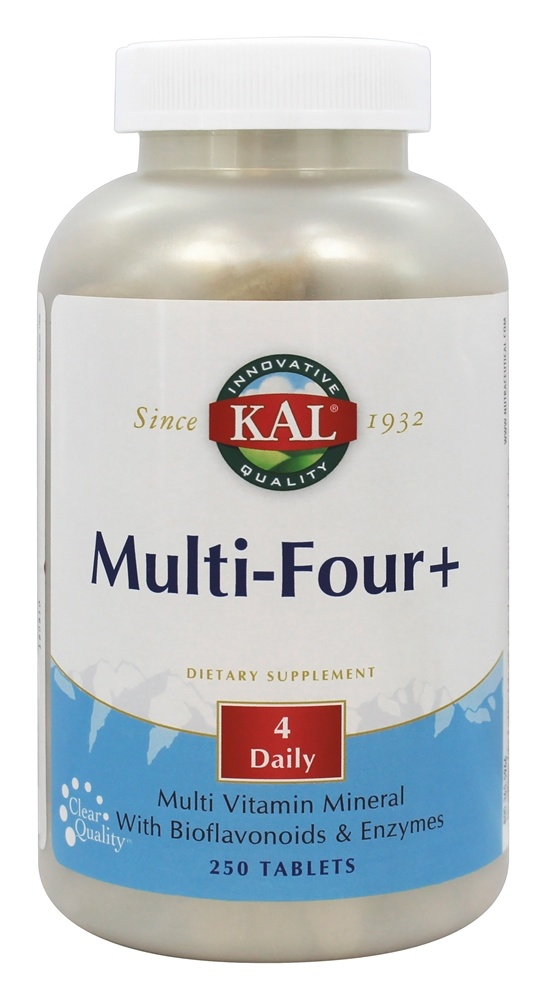 Kal - Multi-Four+ - 250 Tablets