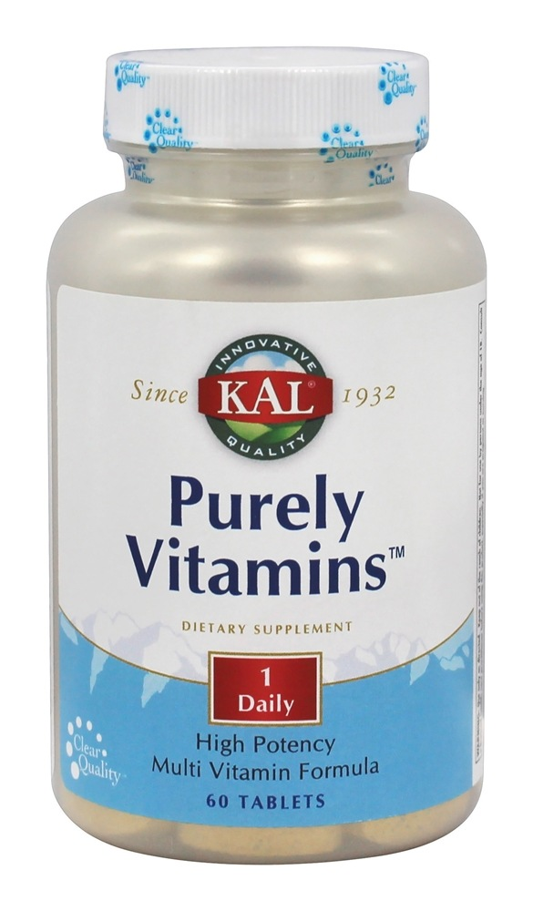 Kal - Purely Vitamins - 60 Tablets