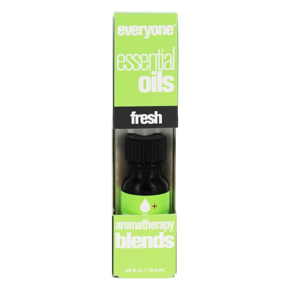 EO Products - Everyone Aromatherapy Blends Essential Oils Fresh - 0.45 oz.
