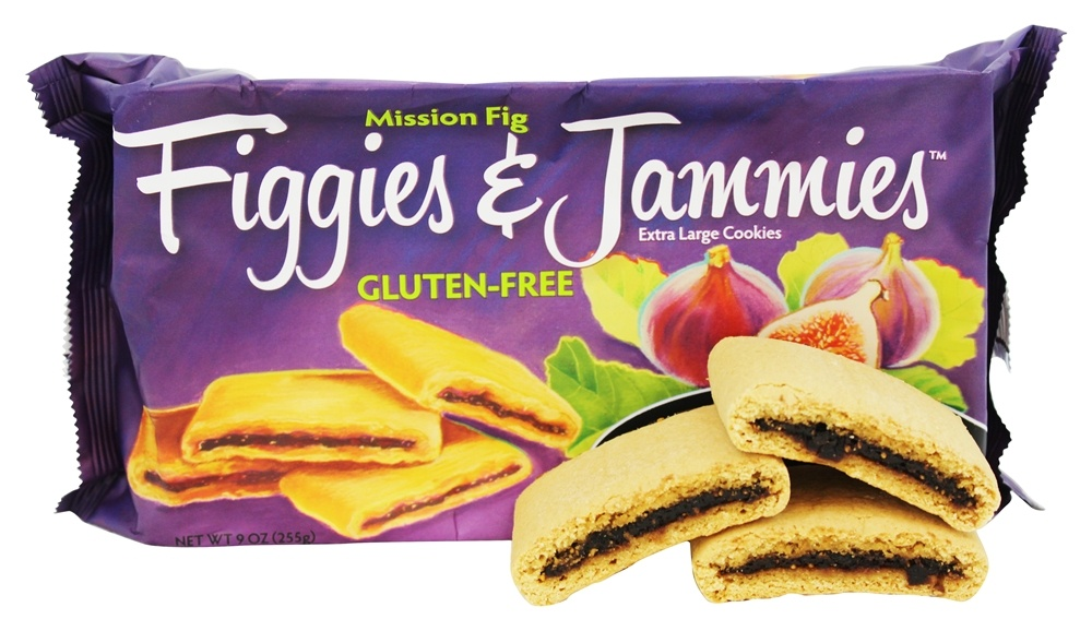 Pamela's Products - Figgies and Jammies Extra Large Cookies Mission Fig - 9 oz.