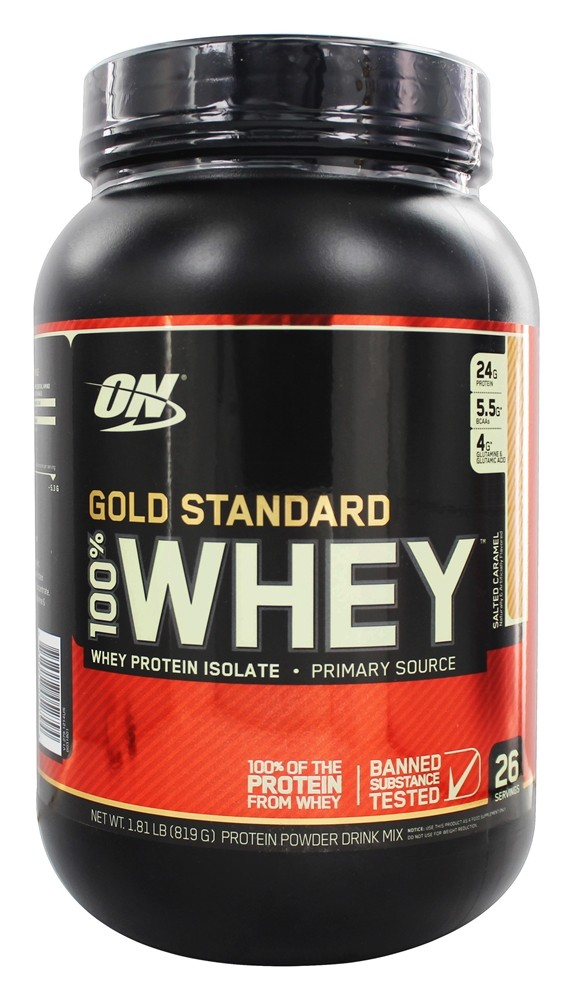Optimum Nutrition - 100% Whey Gold Standard Protein Salted Caramel - 1.81 lb.