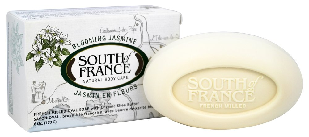 South of France - French Milled Vegetable Bar Soap Blooming Jasmine - 6 oz.