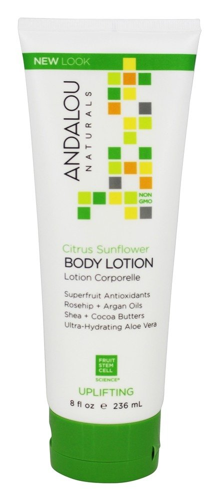 Andalou Naturals - Uplifting Body Lotion Citrus Verbena - 8 oz.