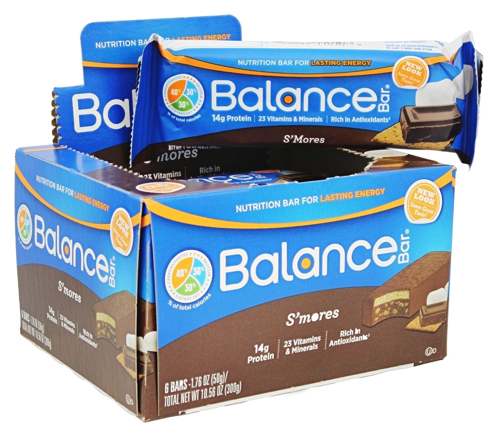 Balance - Nutrition Energy Bar S'mores - 6 Bars