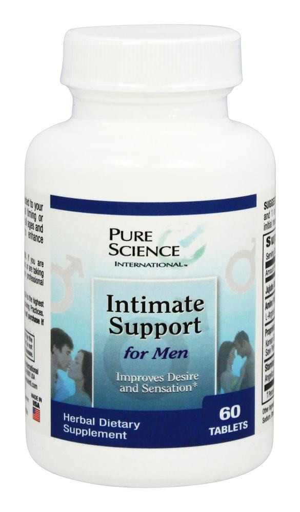 Pure Science International - Intimate Support for Men - 60 Tablets