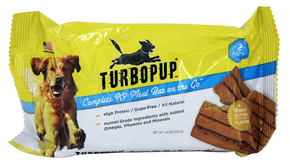 TurboPUP - Complete K9 Meal Bar Double Pack Peanut Butter - 4.4 oz.