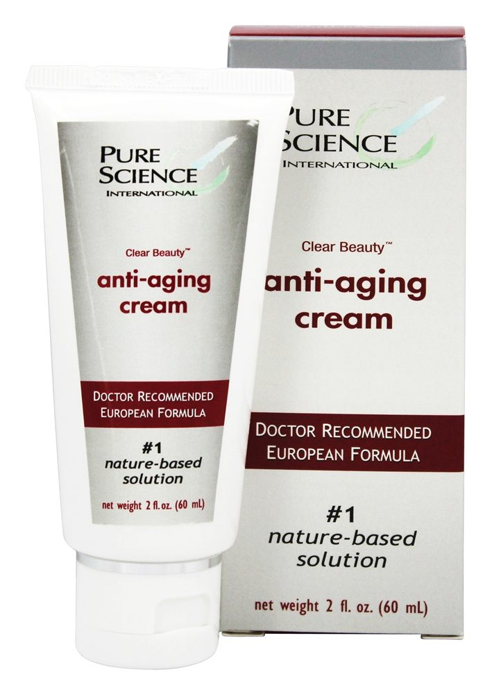 Pure Science International - Clear Beauty Anti-Aging Cream - 2 oz.