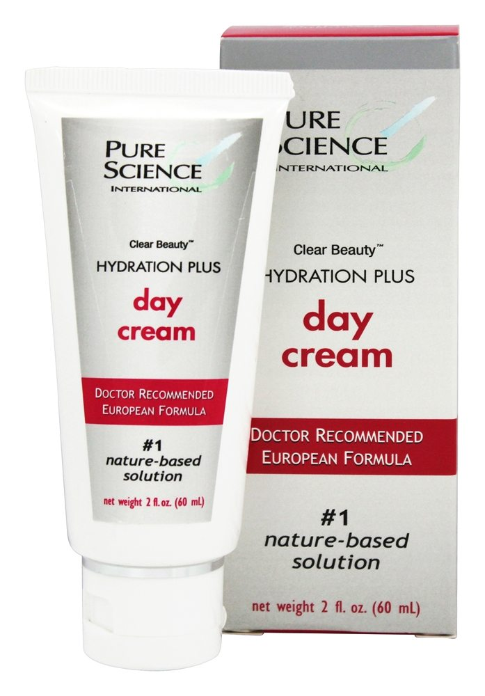 Pure Science International - Clear Beauty Hydration Plus Day Cream - 2 oz.