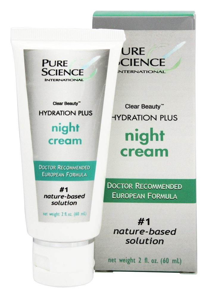Pure Science International - Clear Beauty Hydration Plus Night Cream - 2 oz.