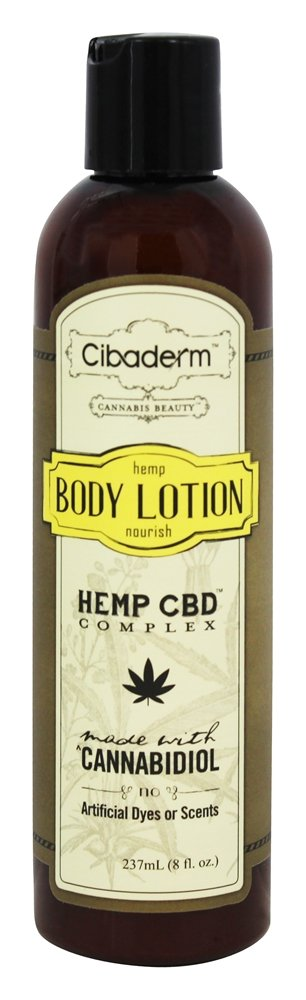 Cibaderm - Hemp Nourish Body Lotion - 8 oz.