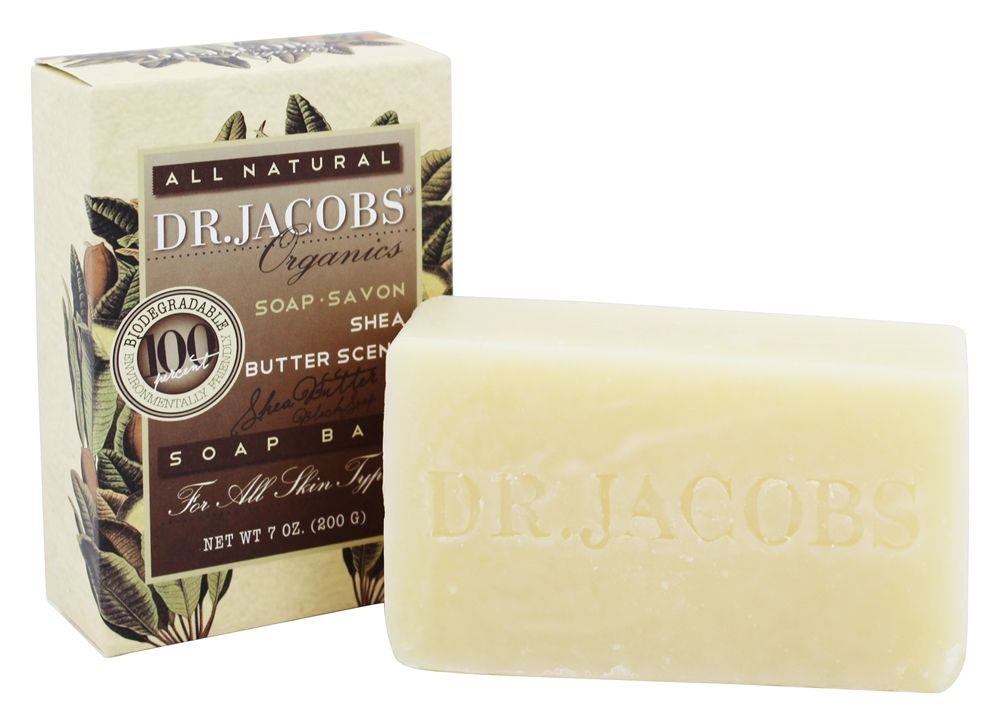 Dr. Jacobs Naturals - All Natural Soap Bar Shea Butter Scent - 7 oz.