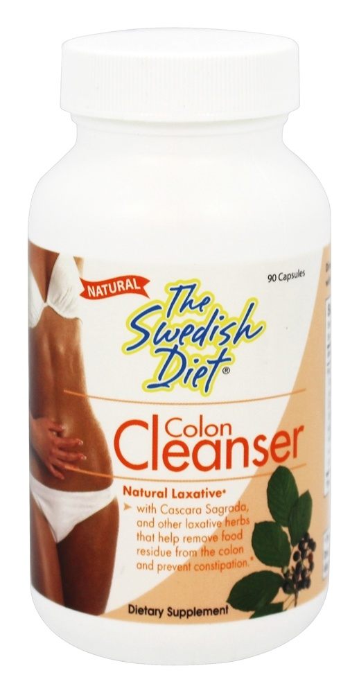 The Swedish Diet - Colon Cleanser - 90 Capsules