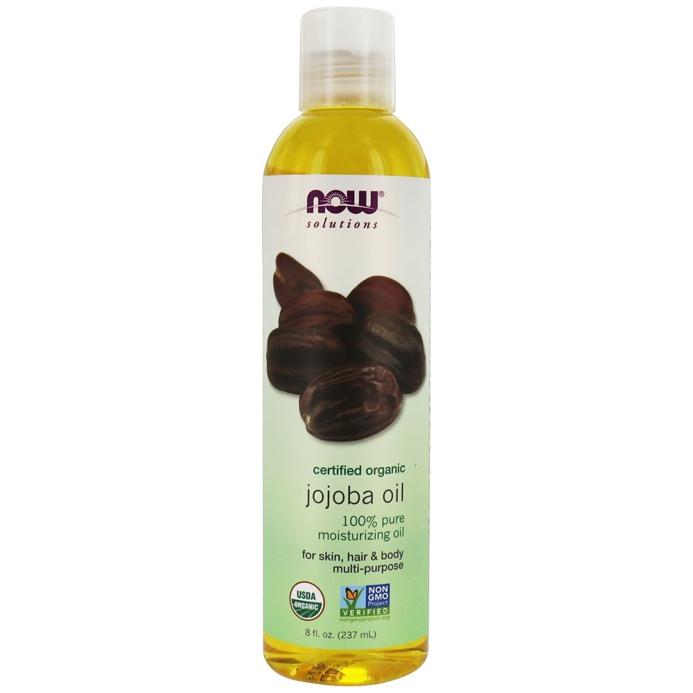 NOW Foods - 100% Pure Jojoba Oil - 8 oz.