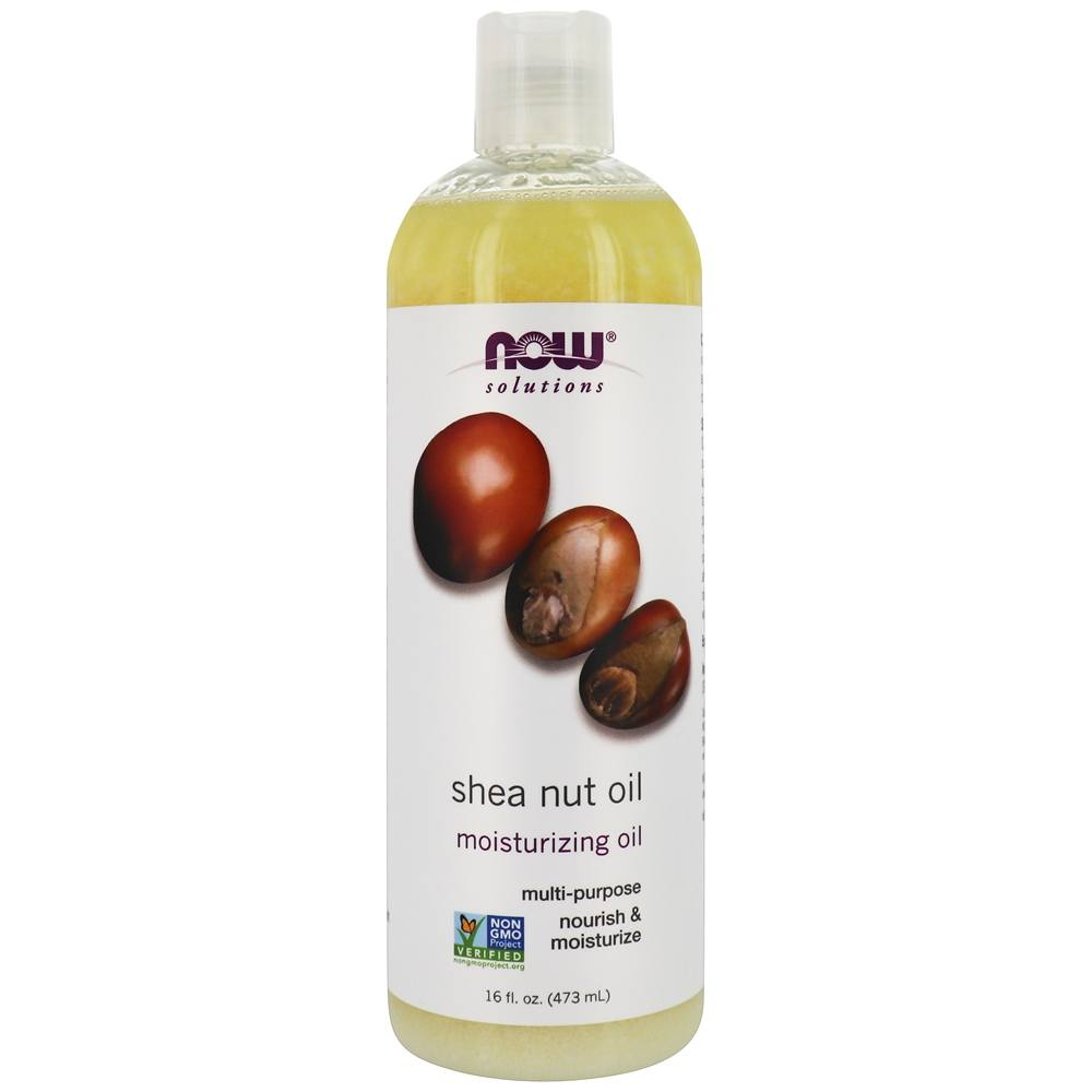 NOW Foods - Shea Nut Oil - 16 oz.