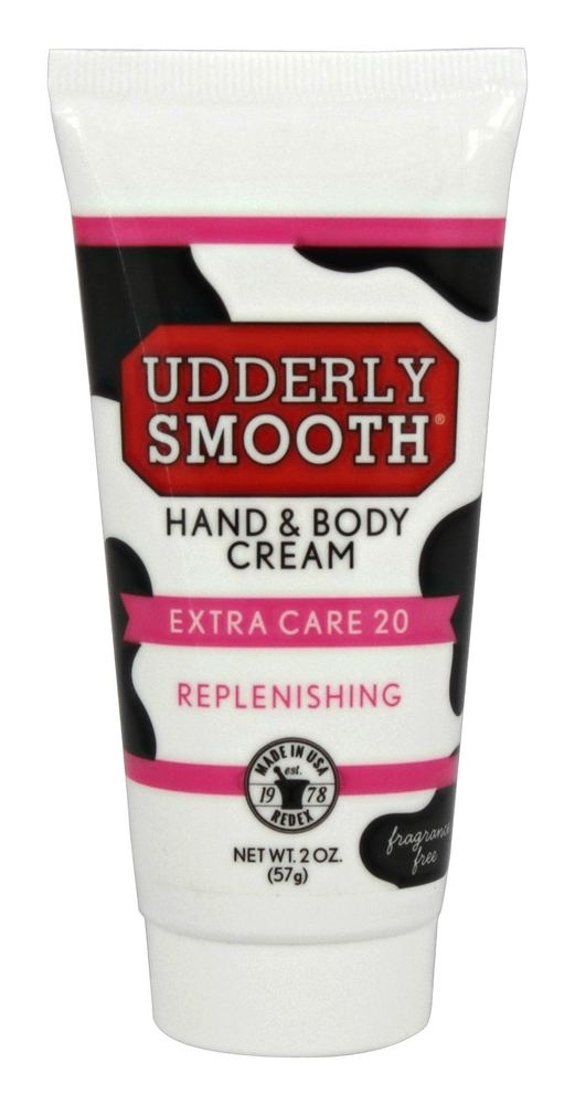 Udderly Smooth - Extra Care 20 Hand and Body Cream Unscented - 2 oz.