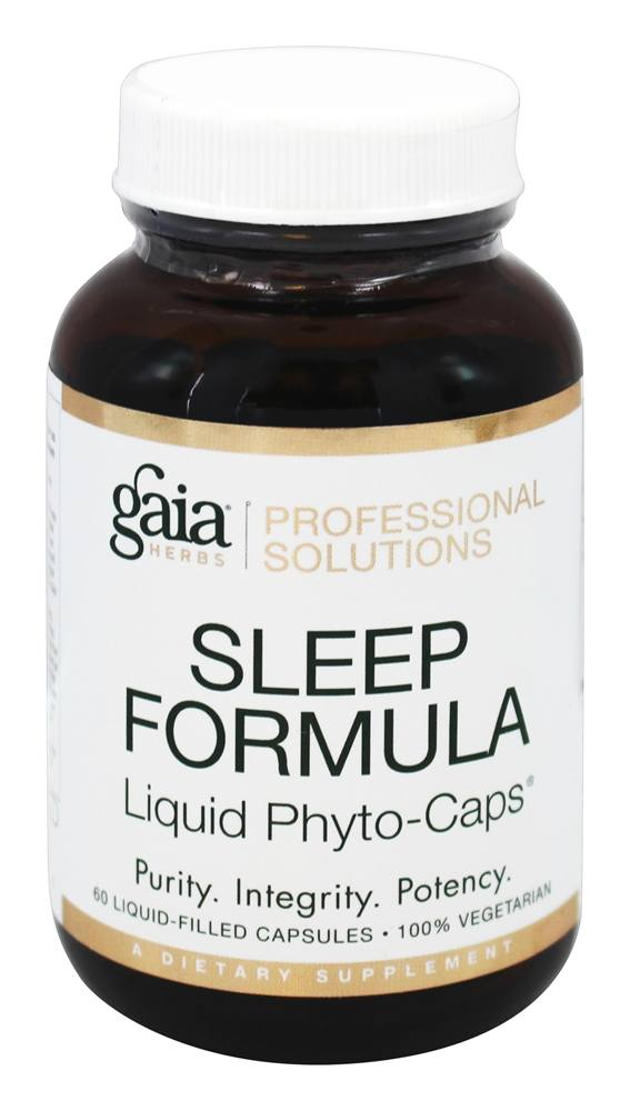 Gaia Herbs Professional - Sleep Formula - 60 Liquid-Filled Capsules