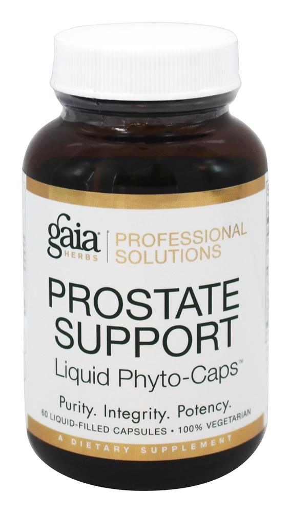Gaia Herbs Professional - Prostate Support - 60 Liquid-Filled Capsules