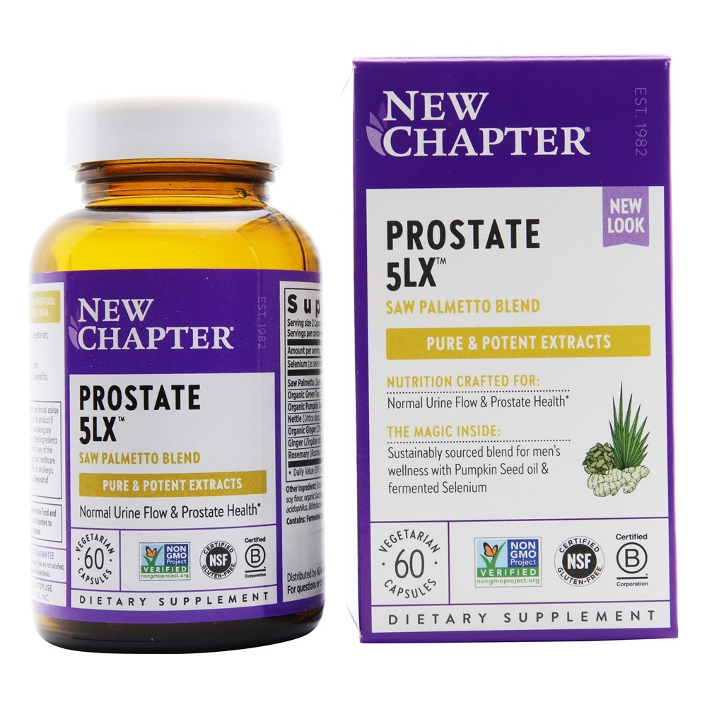 New Chapter - Prostate 5LX - 60 Vegetarian Capsules