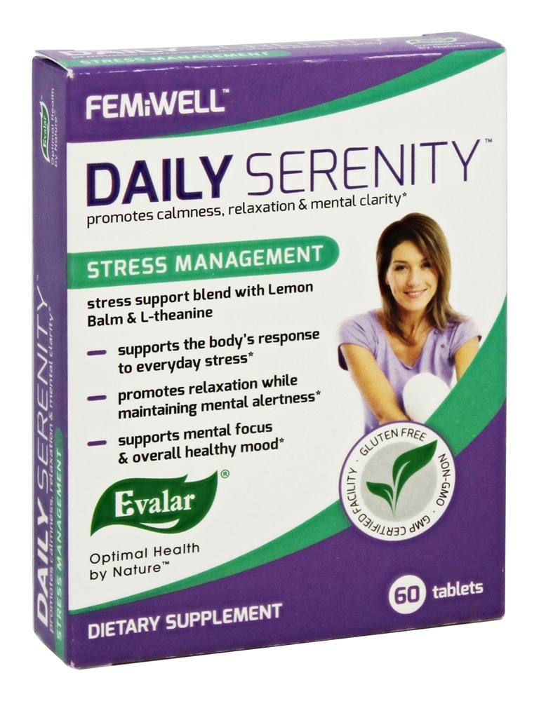 Evalar FemiWell - Daily Serenity - 60 Tablets
