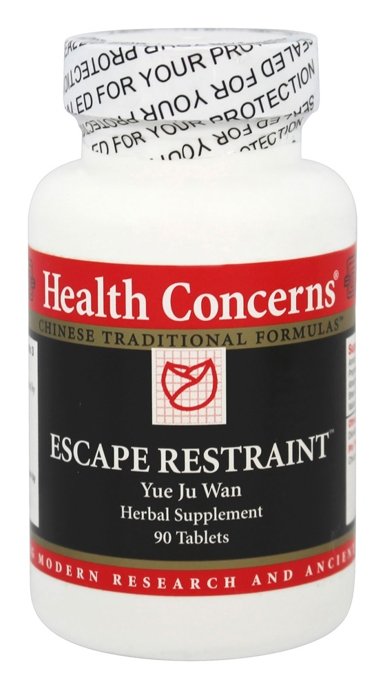 Health Concerns - Escape Restraint - 90 Tablet(s)